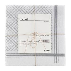 Bilde av Kjøkkenkluter, 3 pkn, Meraki