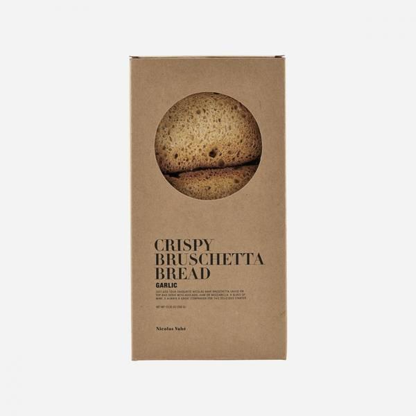 Crispy bruschetta, hvitløk